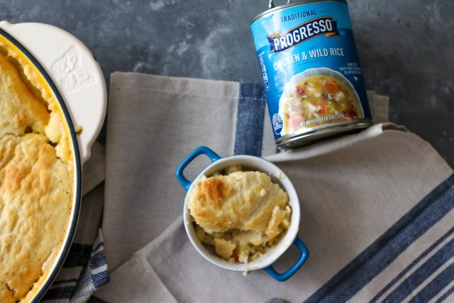 Chicken and Wild Rice Pot Pie Skillet (1 of 1)