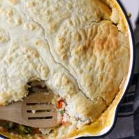 Chicken & Wild Rice Pot Pie