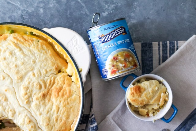 Progresso Chicken and Wild Rice Pot Pie (1 of 1)
