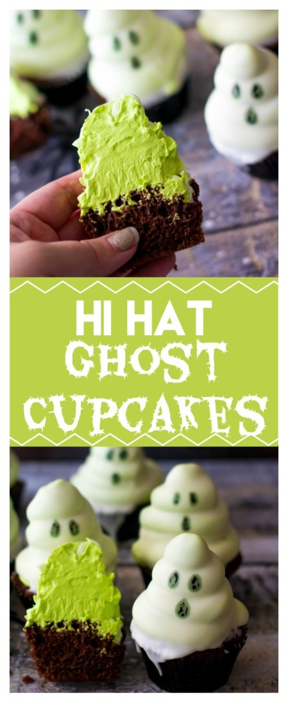 Hi Hat Ghost Cupcakes