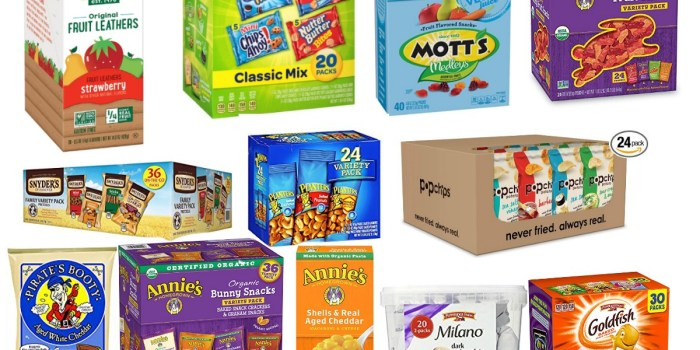 Best Snack Deals on Amazon