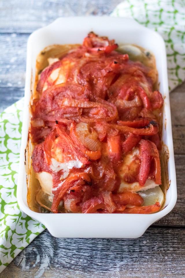 Chicken Spinach Potato Bake-6