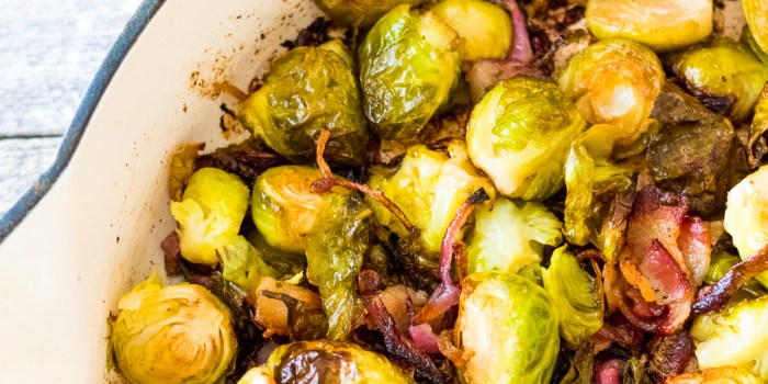 Bacon Ranch Brussels Sprouts