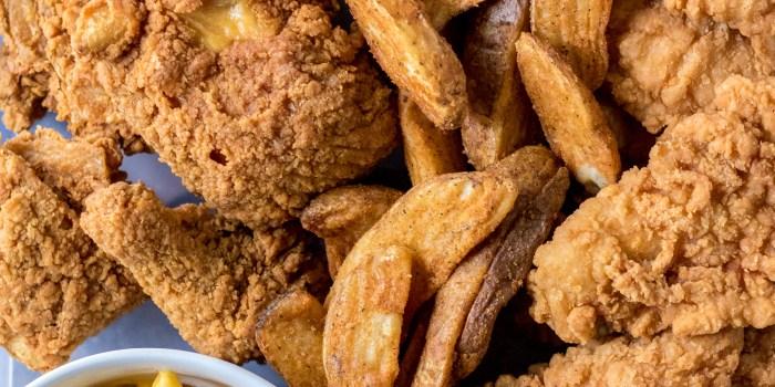 Easy Chicken Dinner Board