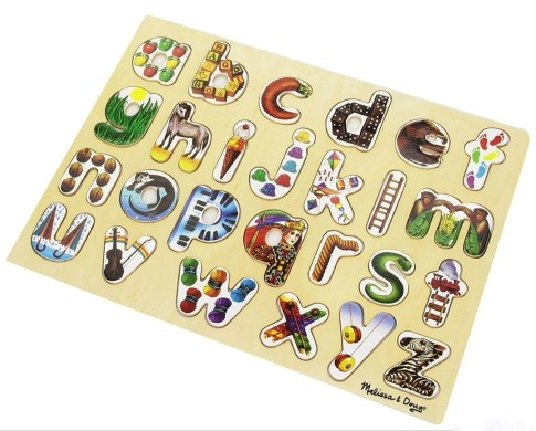 Melissa & Doug Alphabet Puzzle