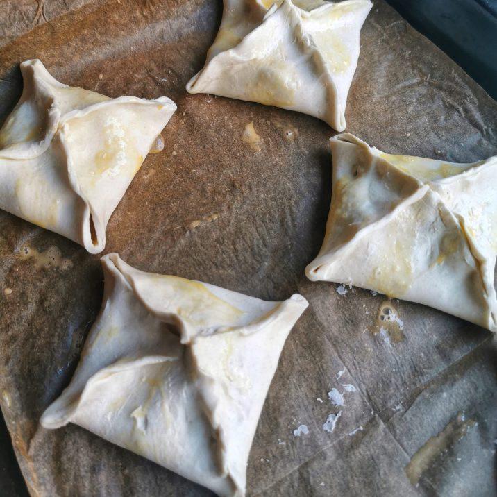 Chorizo Brie Parcels
