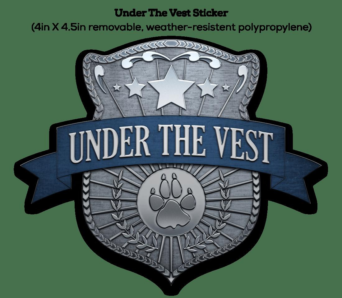 Under The Vest Sticker For Website