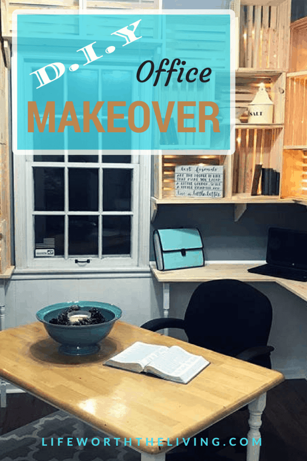 DIY Office Makeover