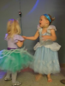 School costume dance party!