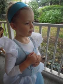 Our beautiful Cinderella on Halloween