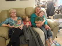 And with their grandmas!