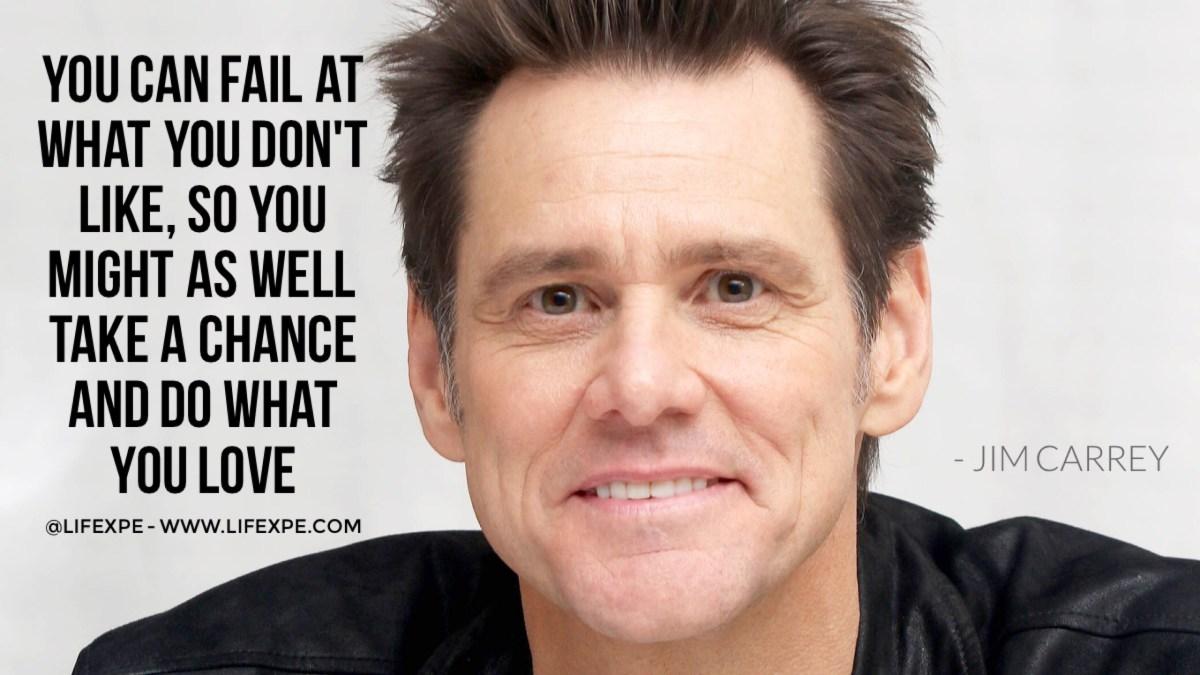 Jim Carrey quote devastating facts most entrepreneurs still ignore