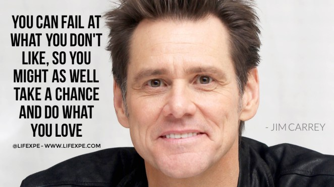 Jim Carrey quote devastating facts most entrepreneurs still ignore