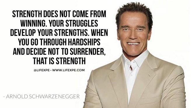 arnol Schwarzenegger terminator why we fail motivational video