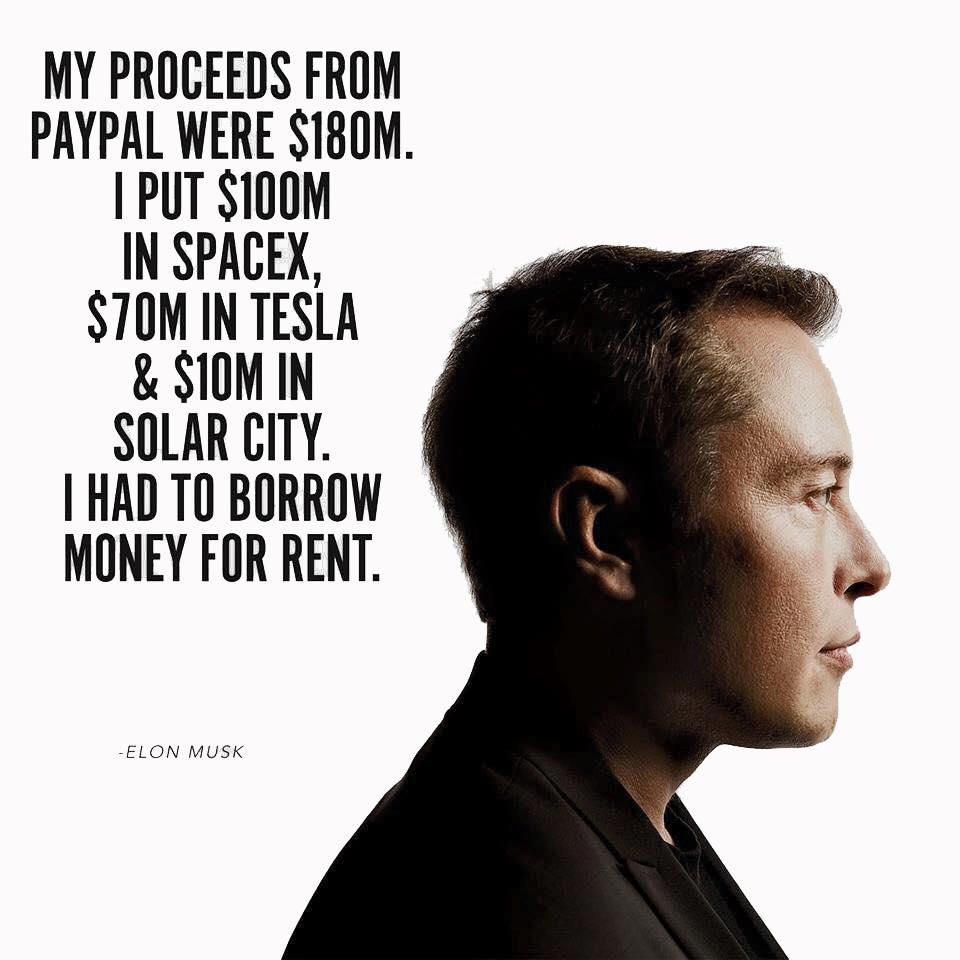 Devastating Facts Most Entrepreneurs Still Ignore Elon Musk Paypal Space X Tesla
