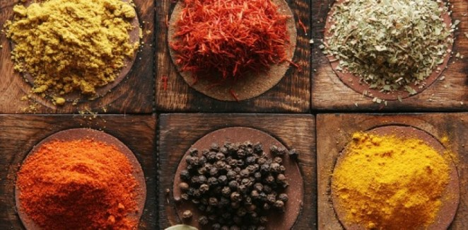 spices All 5 Elements and 6 Different Tastes and How they Affect the Doshas