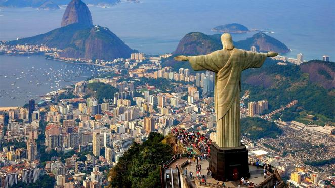 LXP - Beautiful Location Getaway Travel To Brazil Rio De Janeiro Christ The Redeemer Statue