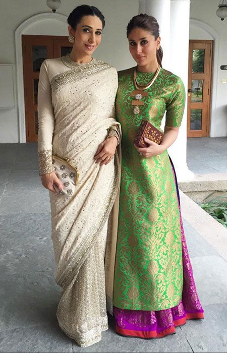 LXP - Lifexpe - Karisma Kapoor in Sabyasachi and Kareena Kapoor in Payal Khandwala
