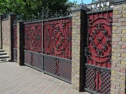 Brick Fences with Gates