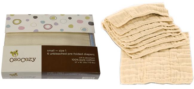 Prefold Diapers
