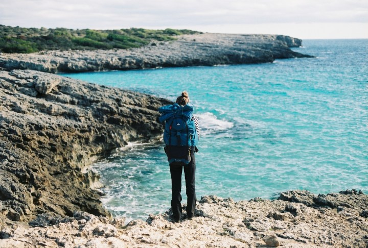 menorca, hiking, backpacking, sea