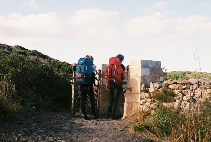 Menorca, hiking, backpacking