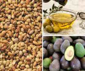 nuts oils avocado