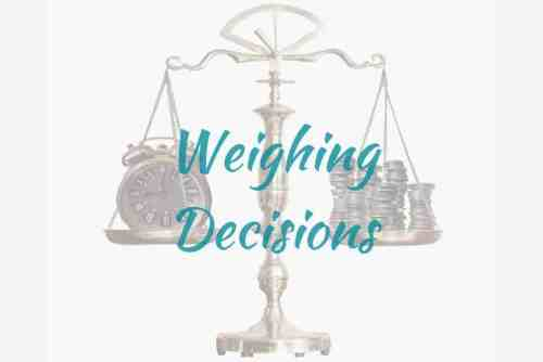 personal values in decision making