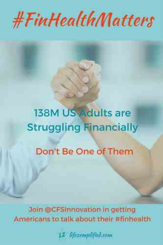Debt Prevents Good Financial Health and Keeps People Struggling Financially - Focus on Eliminating Debt Instead