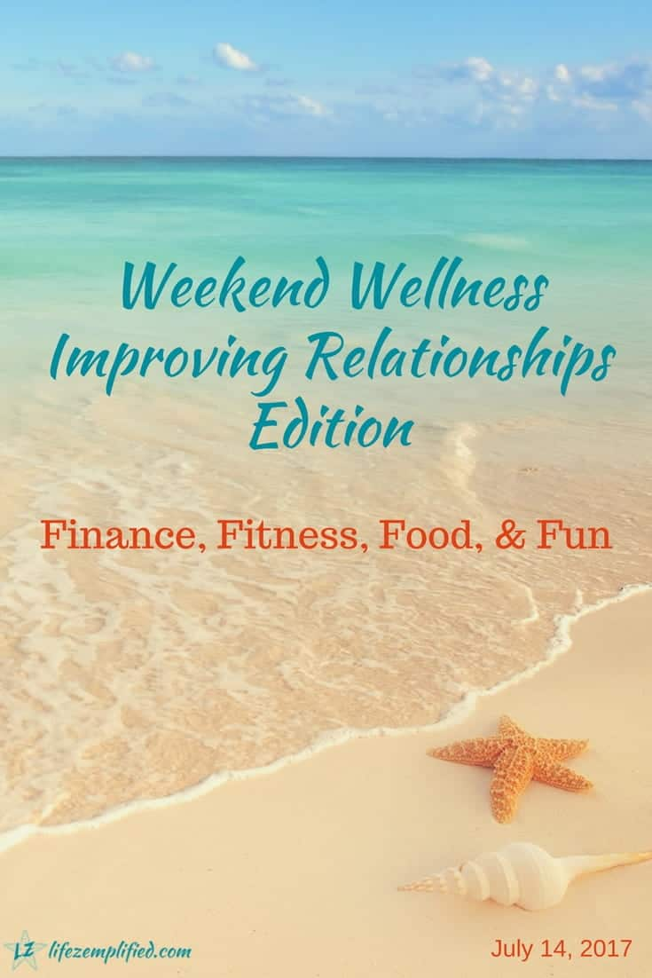 Start improving your finance, fitness, food, and fun relationships today. Love your money, love your body, and love your life, so they can love you back!