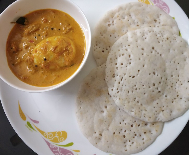 Popular breakfast item among top 12 Kerala foods.