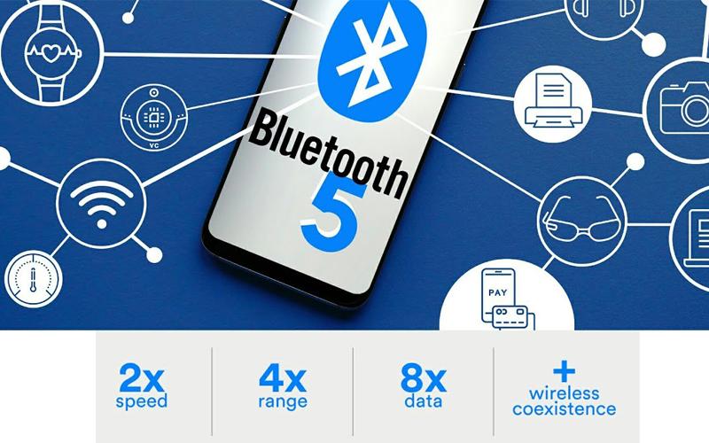 latest bluetooth 5 technology