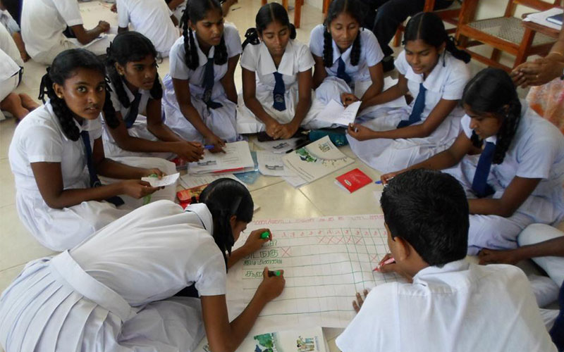 Lankan education system and racism