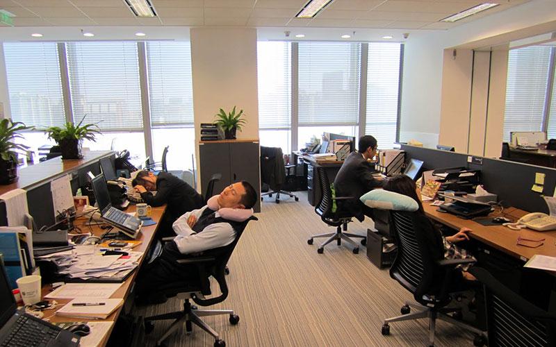 Sleep while working
