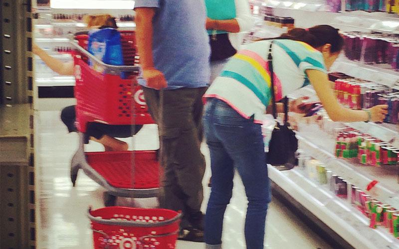 people we meet at a super market