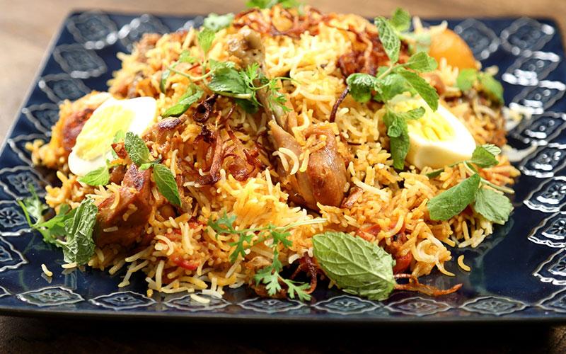 Biriyani recipe