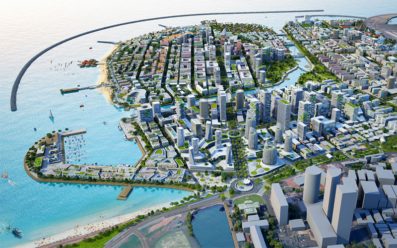 Projects that will change colombo