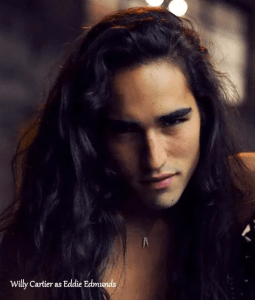 Model Willy Cartier as Eddie Edmunds