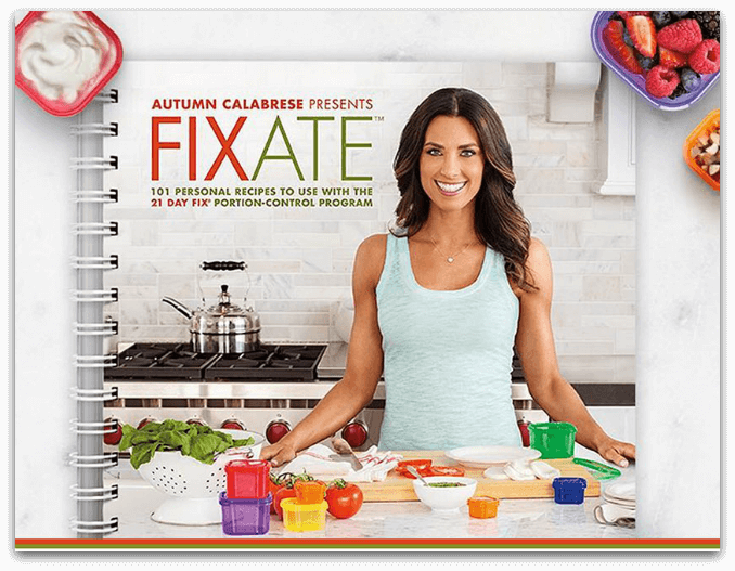 fixate cookbook autumn calabrese 21 day fix