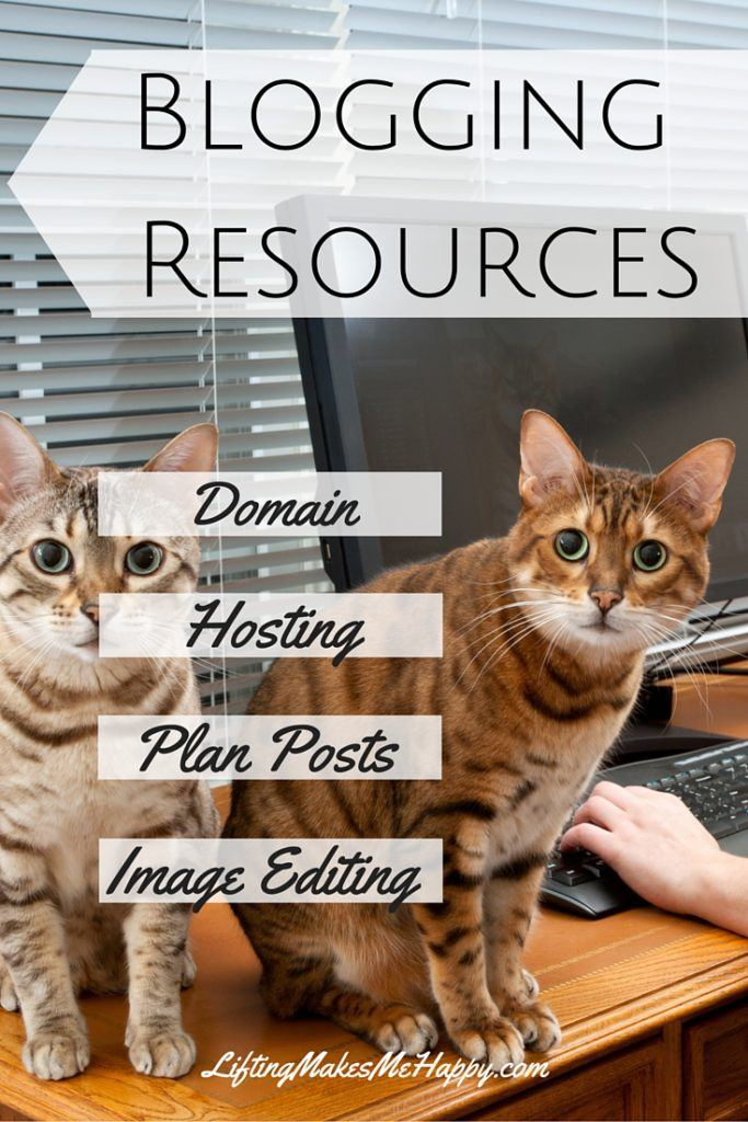 Blogging Resources for Beginners and Advanced - via LiftingMakesMeHappy.com