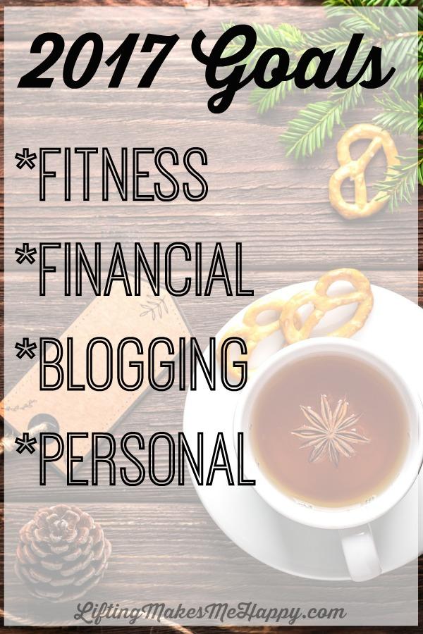2017 Goals (with monthly breakdowns) via LiftingMakesMeHappy.com