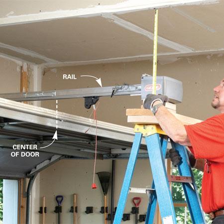 Garage Door Opener Installation Liftmaster Troubleshooting