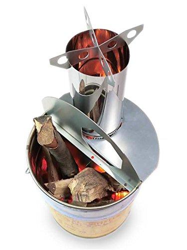 ロケットストーブ「焚火缶」のご案内