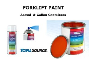 OE Color Forklift Paint<br>Spray & Cans
