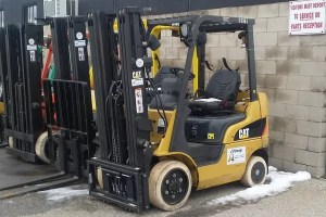 Used Caterpillar Forklift</br>Model 2C4000