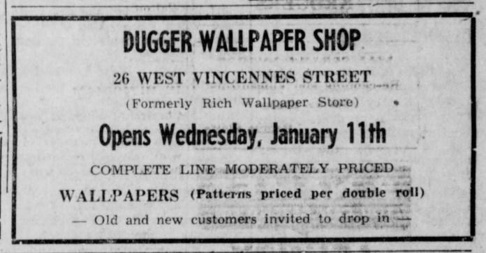 Dugger Wall Paper Store