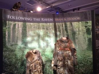 As roupas de Bran e Hodor
