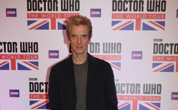 Coletiva Doctor Who - Capaldi