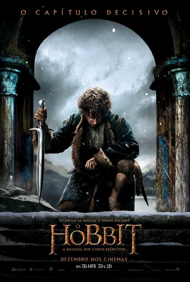 Pôster O Hobbit A Batalha dos Cinco Exércitos