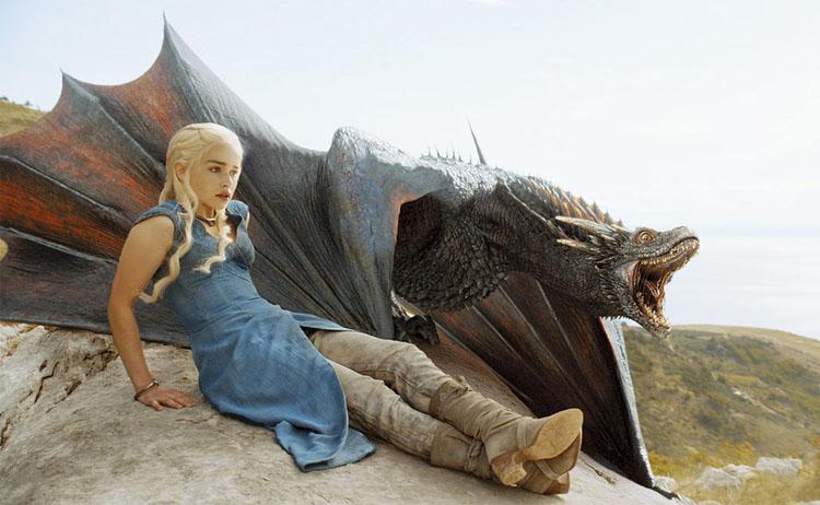 4 Targaryen dragons